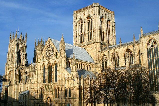 17. York Minster Katedrali - İngiltere