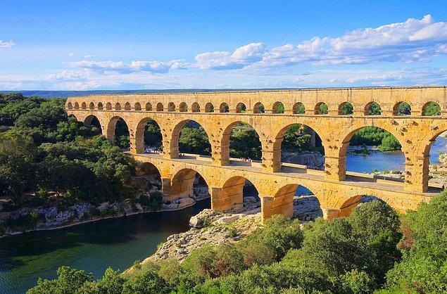 3. Pont du Gard - Fransa
