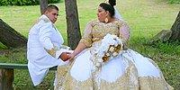 Romani Bride Wearing £175,000 Wedding Dress Showered In Gold And Money!