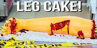 Как приготовить торт в виде окровавленной ноги