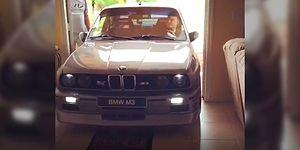 The BMW E30 Lover Who Parked His Car In His House To Save It!