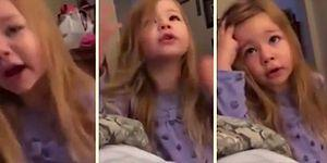 Adorable Little Girl Warns Her Dad About The Toilet Seat!
