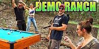 A Dangerous Game Of Pool Played With Guns Instead Of Cues