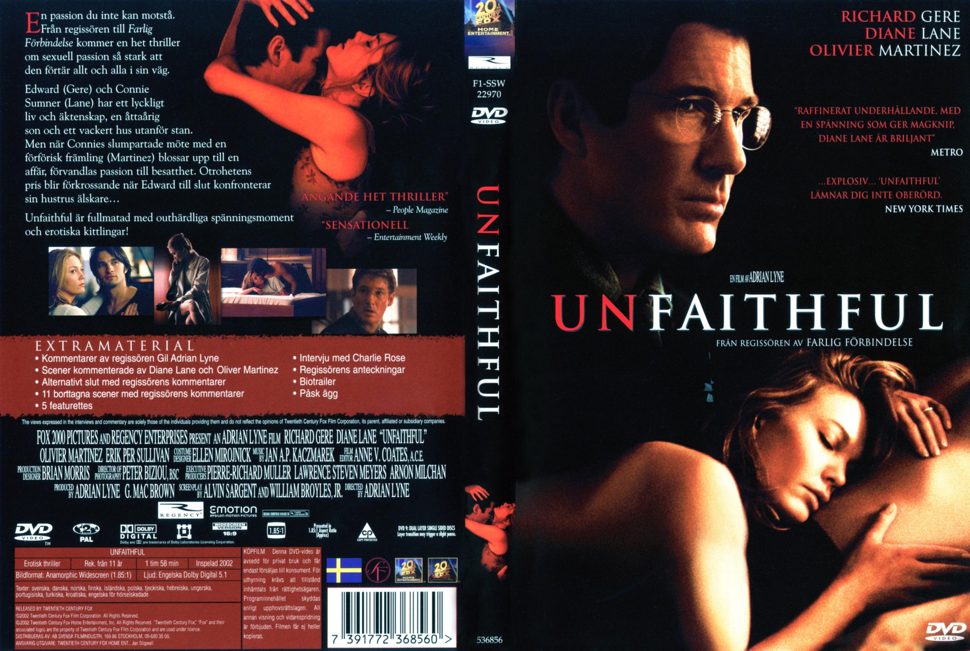 Unfaithful movie