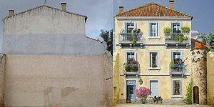 14 Impressive Before & After Street Art Photos!