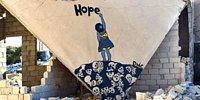 In pictures: Syria's Banksy Turns Rubble Into Art