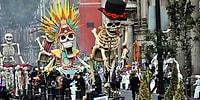 День мертвых 2016: тысячи мексиканцев вышли на парад