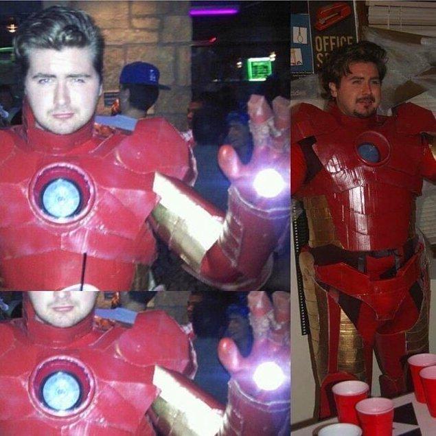 4. Özenle Hazırlanmış Bir Iron Man Kostümü