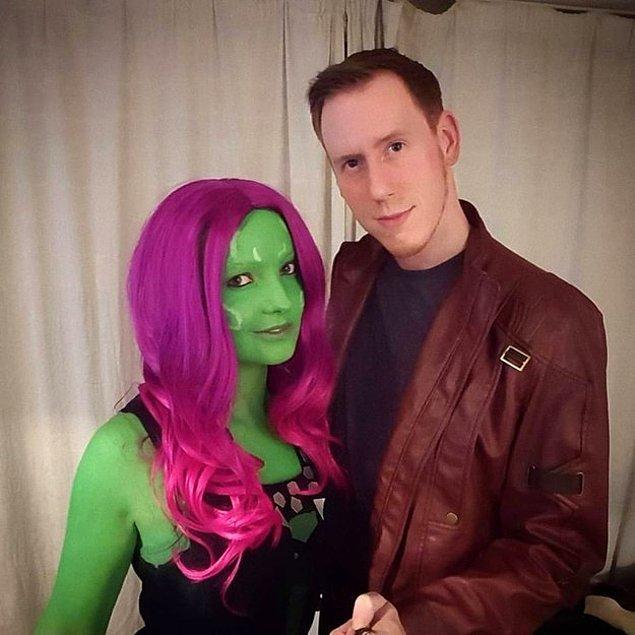 10. Galaksimizin Dışından Bir Misafir. Gamora ve Star Lord