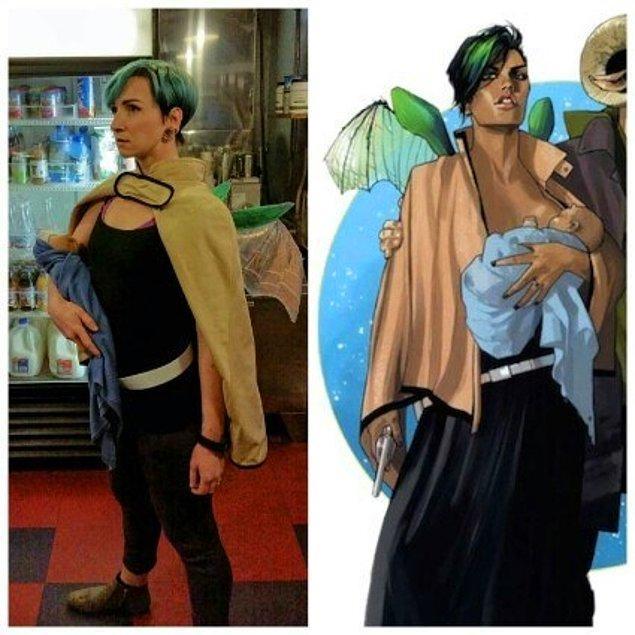 18. Saga'dan AF Alana'nın Kostümü. Orjinali ile Birebir