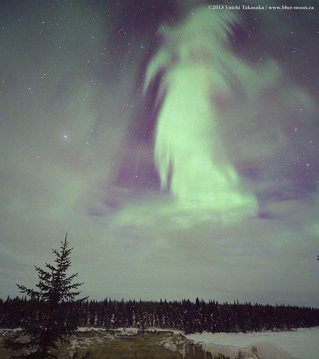 29. Kanada Üzerindeki Hayalet Kutup Işıkları