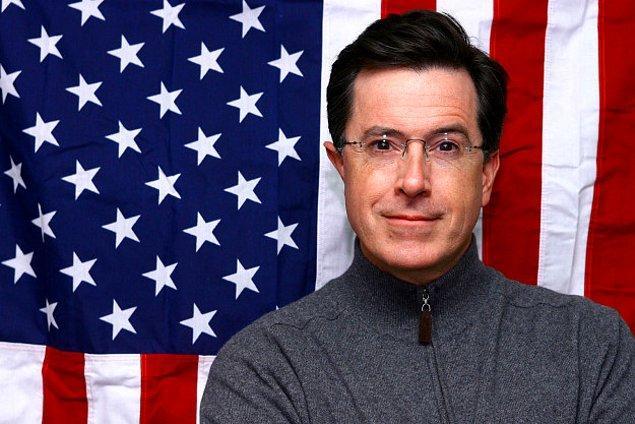 9. Stephen Colbert Amerika'nın başkanlık seçimlerine adaylığını koyacağını açıkladı.