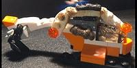 The Satisfying Scenes Of Legos Melted By A Gas Torch!