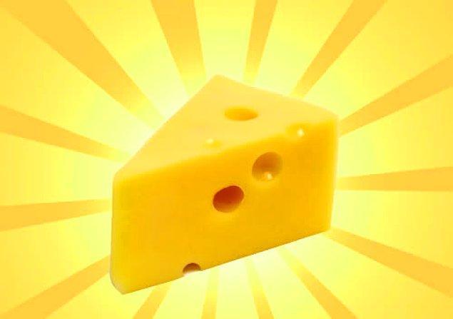2. Yine en sevdiğimiz proteinlerden biri: Peynir!