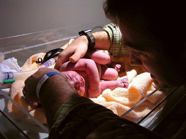 25. Kadınlarda doğum gerçekleşebilir.