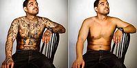 Бывшие члены преступных банд впервые увидели себя без татуировок