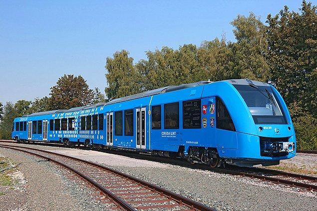 Almanya'nın sıfır emisyonlu treni Coradia iLint ile tanışın.