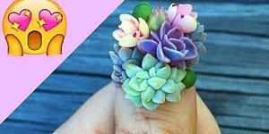 16 Images Showing The Latest Manicure Craze: Succulent Nails!