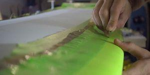Watch This Ridiculously Satisfying Video Of The Making Of A Surfboard!