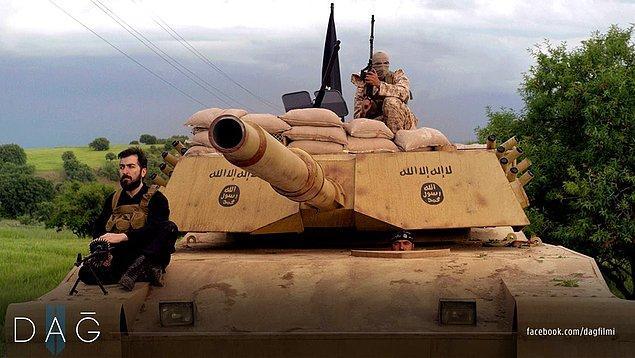 12. Filmde özellikle final sahnesinde kullanılan tank, gece gündüz süren çalışmalarla 3 ay içinde sıfırdan imal edilmiş.