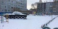 Кто в России родился, тот уже ничего не боится: 10 суровых детских площадок