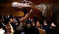 В Японии построили самого большого робота-динозавра