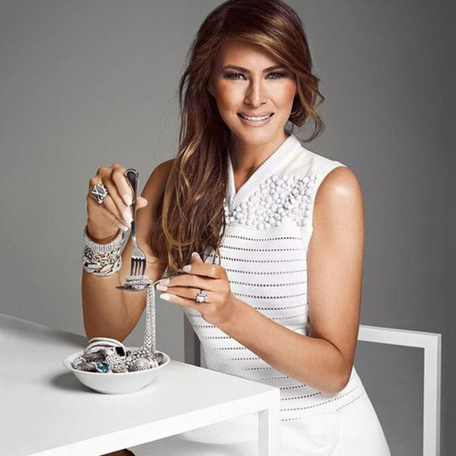Time To Meet With The New First Lady Melania Trump! - onedio.co