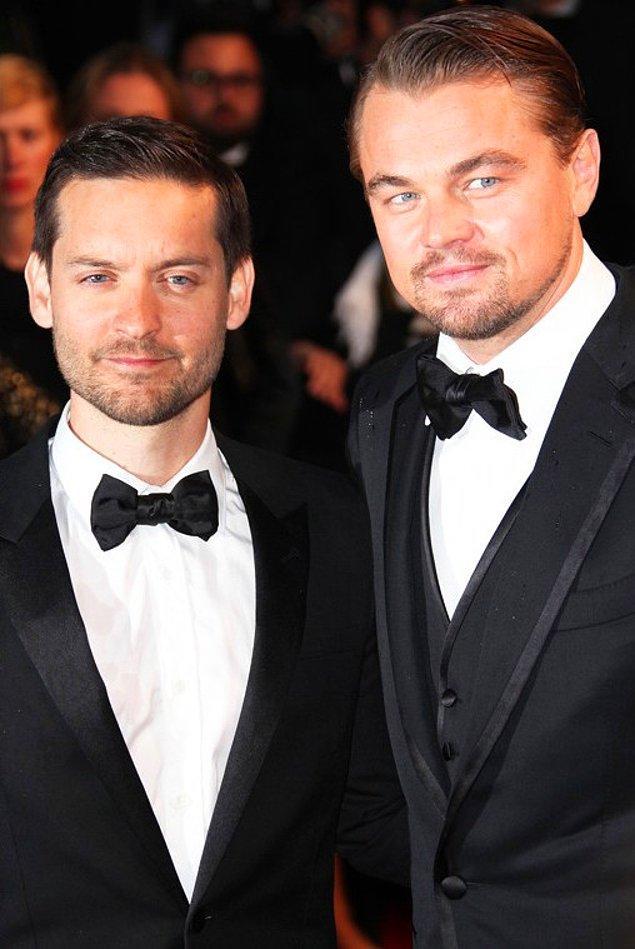 2. Bir film seçmesinde tanışan Leonardo DiCaprio ve Tobey Maguire dostluklarını o zamandan beri sürdürüyorlar.