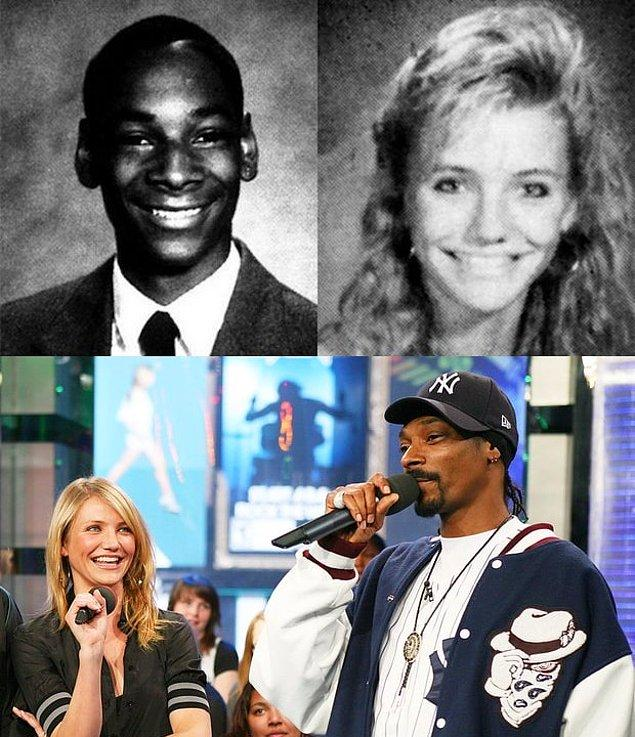 6. Cameron Diaz ve Snoop Dogg aynı lisede okuyan iki ünlü isim.