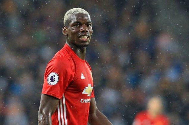 1. Paul Pogba - Manchester United