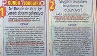 Posta Gazetesinde Haydar Dümen'e Sorulan Sorular Kadar Tuhaf Olan 21 Yahoo Sorusu