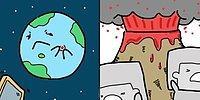Где-то в параллельной вселенной: забавные комиксы о вещах и животных
