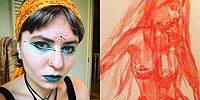 Meet The Art Student Who Paints With Her Menstrual Blood!