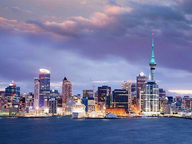 2. Auckland, Yeni Zelanda