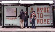 Когда автобусная остановка так и призывает вас заняться спортом!