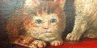 23 Creepy Medieval Cat Paintings That Will Make You Go WTF