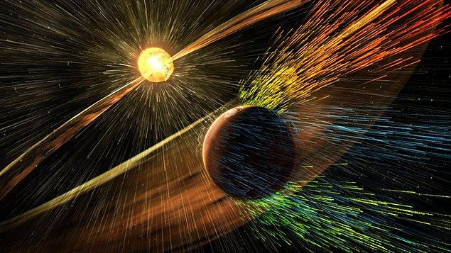 Ancak, eğer Dünya'nın çekirdeği soğursa Manyetosfer'i kaybedeceğiz ve Güneş'ten gelen parçacık akışı atmosferimizi yok edecek.