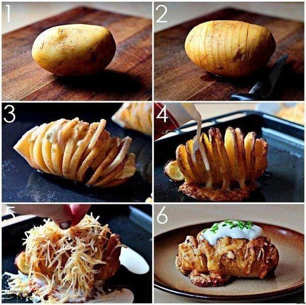 Что можно приготовить из картошки быстро в домашних условиях