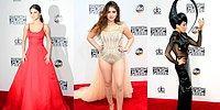 American Music Awards: выбираем лучшие наряды звезд с красной дорожки