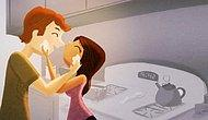 10 Cute Illustrations Showing What Daily Life Looks Like When In Love!