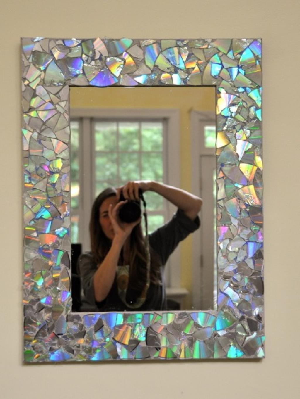 Окантовка на зеркало своими руками