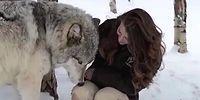 Захватывающее дух видео о дружбе человека и волка
