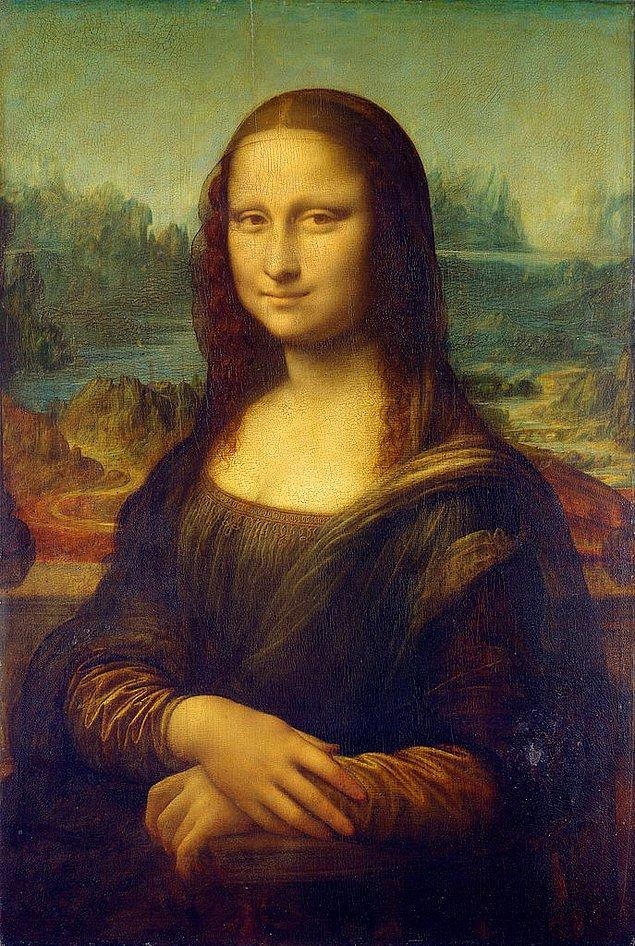 6. Geldik final sorusuna! Ünlü Mona Lisa tablosundan alacağın ipucuyla bu sayılardan hangisinin diğerleriyle alakası yok?