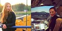 """Эта русская девушка в 23 года стала пилотом """"Аэрофлота""""!"""