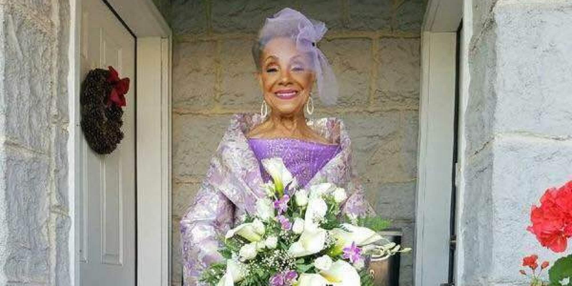 86-Year Old Woman Gets Married AND Designs Her Wedding