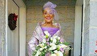 86-Year Old Woman Gets Married AND Designs Her Wedding Dress!