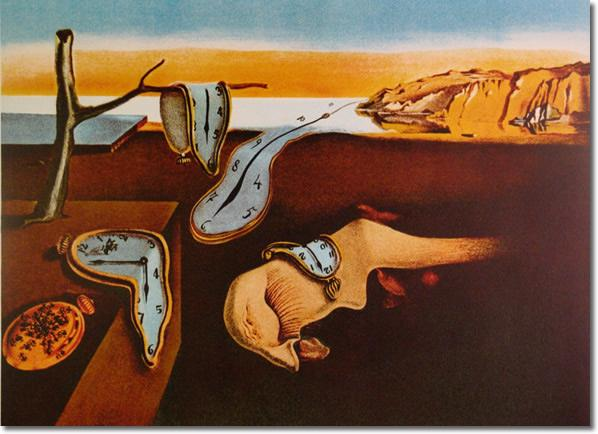 the meaning behind surrealist salvador dalis artistic masterpiece the persistence of memory 1931 is not easy to grasp in the painting four clocks are