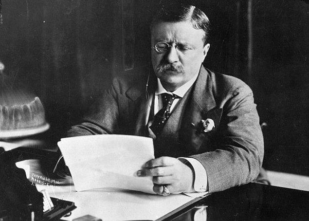 1. Teddy Roosevelt 1901 yılında resmi olarak adını koymadan önce Beyaz Saray denmiyordu.