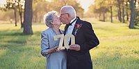 Пара устроила свадебную фотосессию через 70 лет после бракосочетания