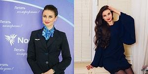 Анна Гурина - самая красивая стюардесса России по итогам ежегодного конкурса!